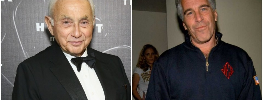 Jeffrey Epstein reportedly lived the life of a billionaire thanks to hand-me-downs from Victoria's Secret head Les Wexner (LB)