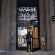 Co-working startup WeWork delays going public