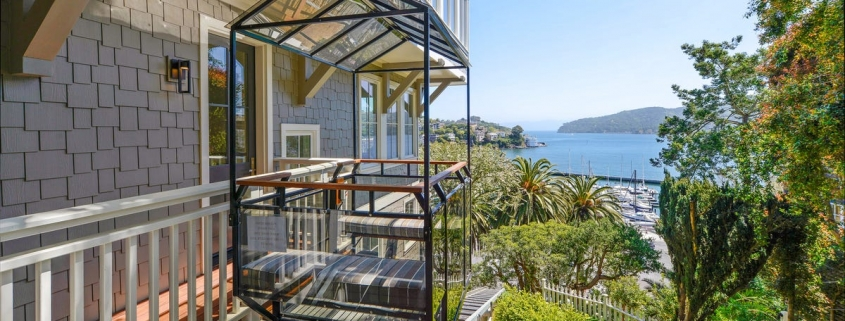 Private 'hillavators' are a rare but luxurious amenity for some Bay Area homes — here's how they work