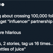 Real numbers from a real Instagram influencer (with 100K+ followers)